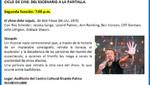 Centro Cultural Ricardo Palma: El show debe seguir, de Bob Fosse, este lunes 9