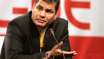 """Rafael Correa sobre periodista asesinado: """"No permitiremos que este crimen quede en la impunidad"""""""
