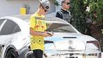 Justin Bieber fue detenido por manejar a excesiva velocidad