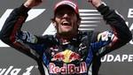 F1: Webber con Red Bull gana GP de Gran Bretaña