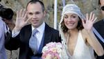 [Video] Andrés Iniesta contrajo matrimonio con Anna Ortiz