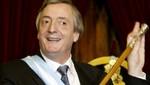 Néstor Kirchner: 'La Argentina tiene que reconstruirse y ser un país serio'