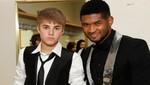 Justin Bieber da su apoyo a Usher después del accidente de su hijastro