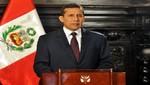 Presidente Ollanta Humala: Las Fuerzas Armadas contribuirán al desarrollo del país