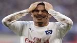 Problemas: Hamburgo le pide 500 mil dólares a Guerrero para cerrar su fichaje con el Corinthians