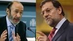 España: Rajoy y Rubalcaba sostienen su primera cita institucional