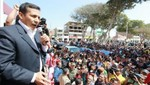 Datum: Ollanta Humala es aprobado ahora por el 55% de la población