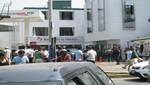 Heridos en asalto al Banco de la Nación recibieron atención en Hospital Unanue del Minsa