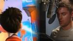 Zac Efron en el detrás de cámaras del film 'Dr. Seuss The Lorax'