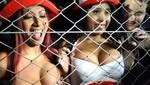 Hinchas ecuatorianos manosearon a Daysi e Irina