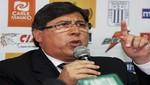 Presidente de Alianza Lima: 'Aurich vino a tirarse atrás'