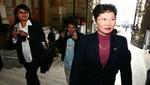 Susana Higuchi: No tengo bienes con Alberto Fujimori