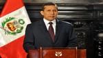 Ollanta Humala condenó las pintas al monumento de San Martín