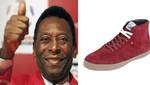 Pelé lanzó su propia marca de zapatillas