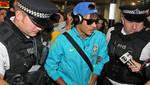 Juegos Olímpicos: Selección de Brasil llegó a Londres y Neymar causó sensación