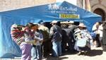 Juliaca: Se atiende a la población afectada por las heladas
