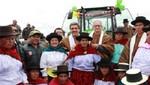 Gremios agrarios expresan respaldo a gestión del ministro Luis Ginocchio