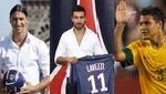 Paris Saint Germain invirtió 93 millones de euros en sus contratar a Ibrahimovic, Lavezzi y Silva
