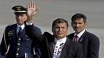 Rafael Correa pro minero