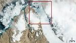 Un iceberg se desprende de un glaciar en Groenlandia