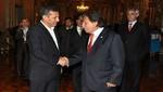 Ollanta Humala se reunió con Alejandro Toledo en Palacio de Gobierno
