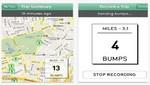 Aplicación para teléfonos inteligentes localiza baches