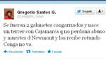 Gregorio Santos recibe al Gabinete Jiménez con un mensaje: Conga no va
