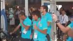 [VIDEO] Neymar y la selección brasileña se divierte bailando en Londres 2012
