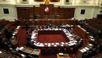 Parlamentarios votan para elegir a nueva Mesa Directiva del Congreso