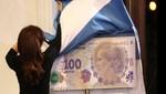 Argentina: presentan billete de cien pesos con rostro de Eva Perón