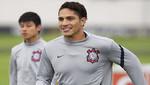 Paolo es la voz: anotó un golazo y destacó en práctica del Corinthians