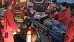 [VIDEO] Joven sordomudo cayó desde séptimo piso de edificio
