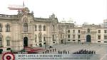 Izan el Pabellón Nacional en Palacio de Gobierno