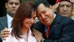 Chávez y Cristina 'uniendo' América Latina