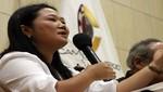 Keiko Fujimori volvió a criticar a Ollanta Humala