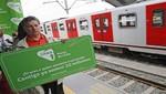 Tren Eléctrico: unas 32 millones de personas serán transportadas hasta fin de año