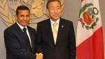 ONU destaca liderazgo de Perú en búsqueda de un futuro más pacífico y próspero