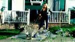 [FOTOS] Demi Lovato deja poco a la imaginación con un leopardo