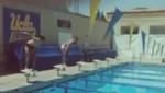 Sergio Rámos y Kaká compiten en natación al estilo de los Juegos Olímpicos