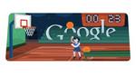 Google presenta un 'Doodle' animado para jugar básquet