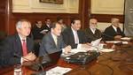 Facilitadores de diálogo con Cajamarca se reúnen con Ministros de Estado