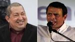 Encuesta: Hugo Chávez continúa encima de Capriles por 27 puntos