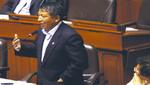Congresista oficialista Condori: fue una broma votar por Rosa Mavila