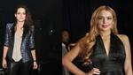 Kristen Stewart se divierte con Lindsay Lohan