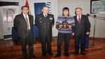 Marina de Guerra del Perú y Telefónica reconocen talento de jóvenes que elaboraron trofeo 'Almirante Grau'