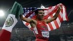 [Londres 2012] ¿Por qué un medallista de EU ondea la bandera de México?