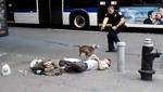 [VIDEO] Policía dispara y mata a un perro en el centro de Nueva York