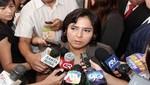 Ana Jara tildó de inaceptables e infelices declaraciones de Isaac Humala sobre Nadine Heredia