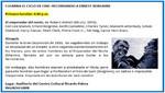 [Miraflores] Agenda Cultural de la Semana: Culmina el ciclo de cine recordando a Ernest Borgnine (Primera función, Lunes 27 de agosto)