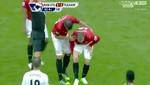 Vea la fuerte lesión que sufrió Wayne Rooney en la Premier League [VIDEO]